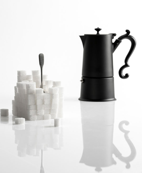 knIndustrie Espressokocher Lady Anne black @ RAUM concept store