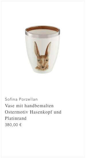 Screenshot Sofina Ostervase Hase